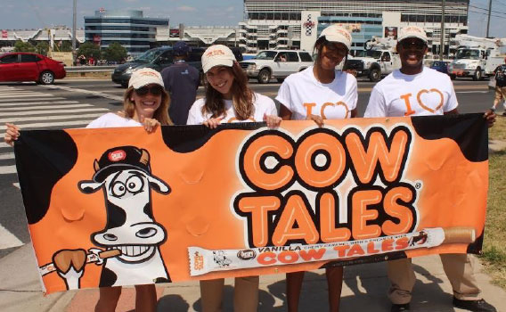 Cow Tales brand ambassadors event